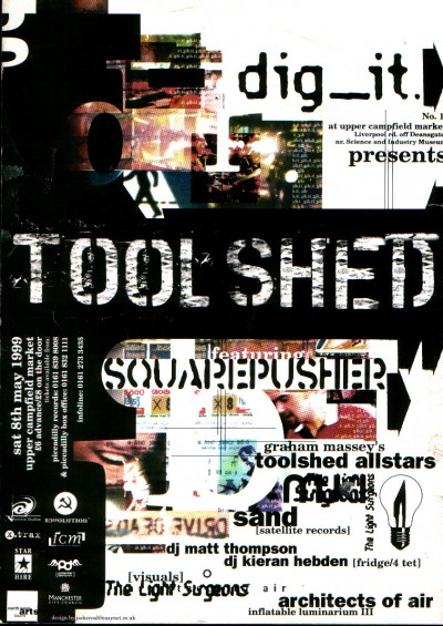 Toolshed Allstars (Live) - Upper Campfield Market, Manchester, England (feat. Squarepusher, Sand and Matt Thompson)
