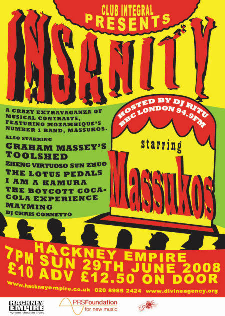 Toolshed Live - Insanity - Club Integral - Hackney Empire - London