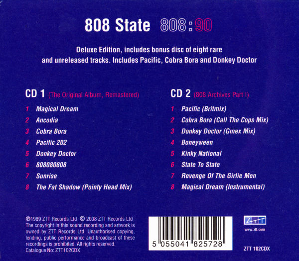 808 State - 90 Deluxe Edition