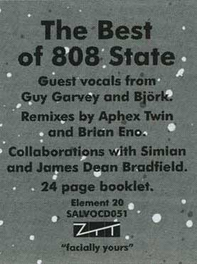 808 State Blueprint sticker