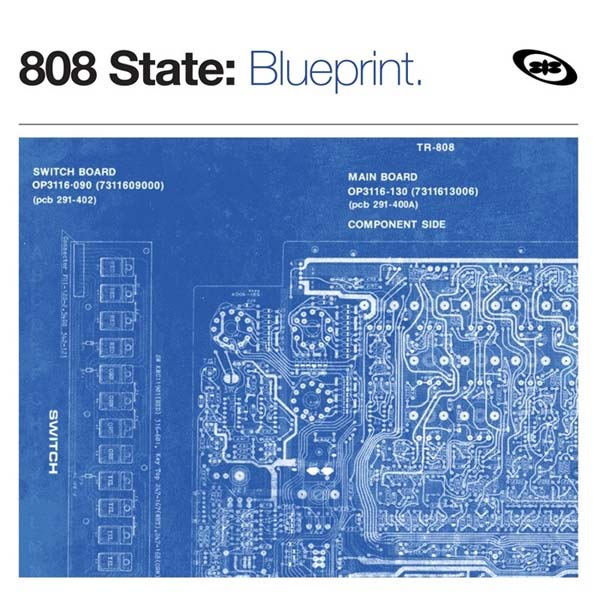 808 State Blueprint UK CD sleeve