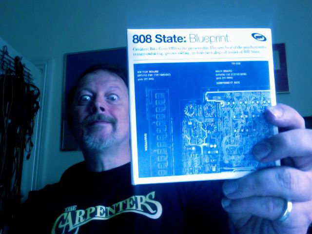 Graham with finished Blueprint CD