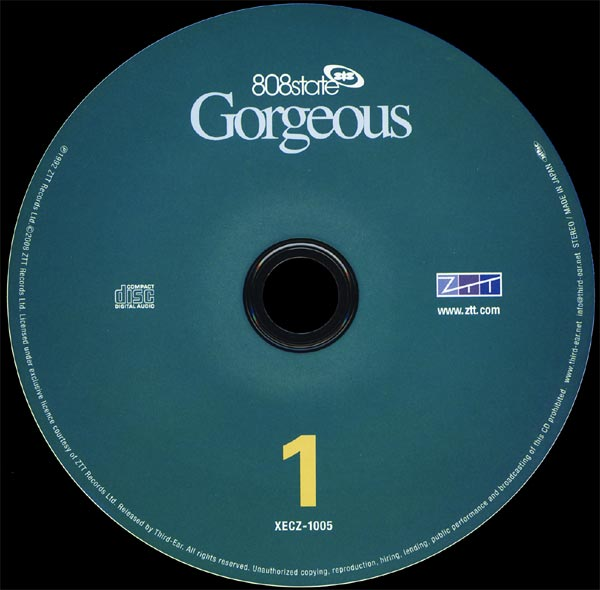 808 State - Gorgeous Deluxe Edition
