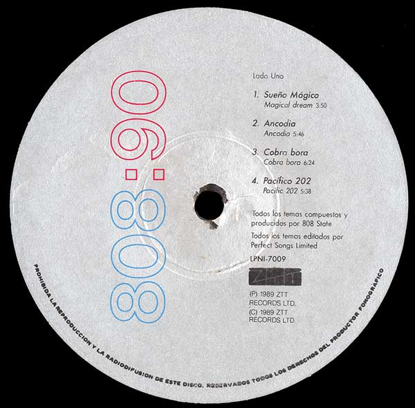 808 State - 90