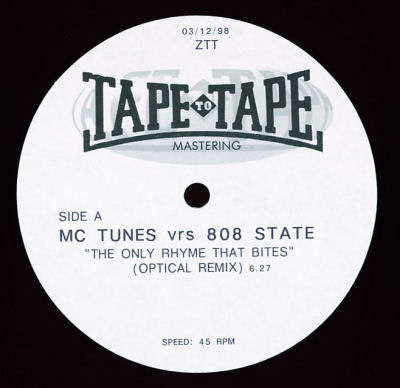 MC Tunes vs. 808 State - The Only Rhyme That Bites 99