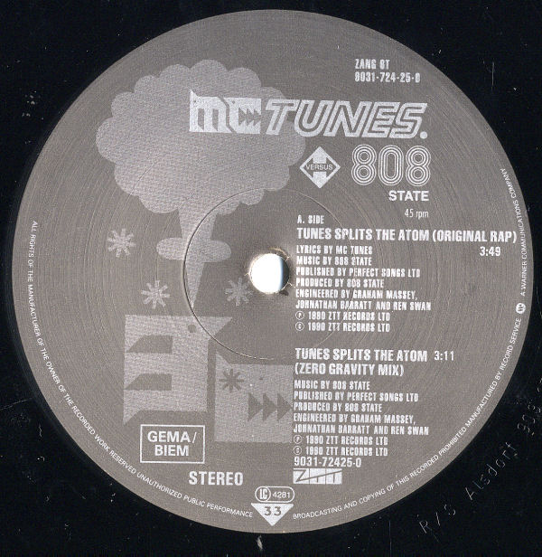 MC Tunes vs. 808 State - Tunes Splits The Atom