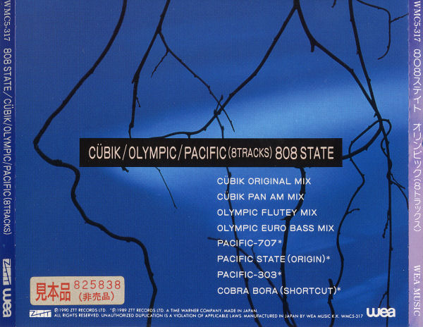 808 State - Cübik / Olympic / Pacific