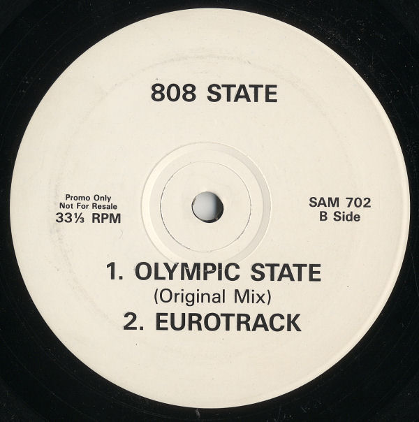 808 State - Olympic State