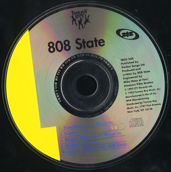 808 State - Timebomb