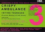 Biting Tongues / Crispy Ambulance - ICA, London, 2003