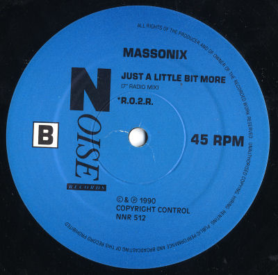 Massonix - Just A Little Bit More