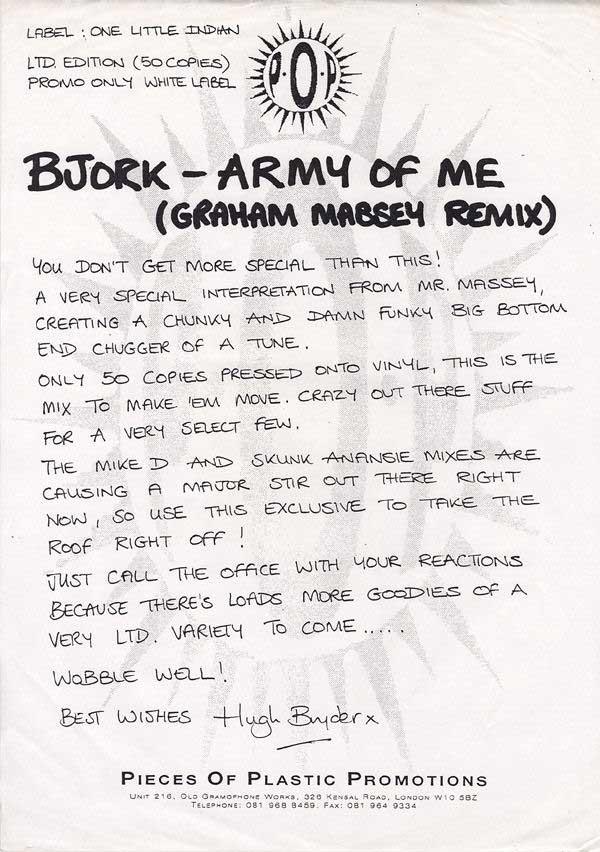 Björk - Army Of Me (Army Of Love)