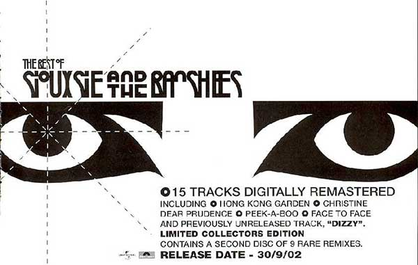 The Best Of Siouxsie And The Banshees - UK Advert - Q Magazine (October 2002)