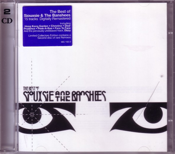 The Best Of Siouxsie And The Banshees - Collector's Edition - UK 2xCD - Front