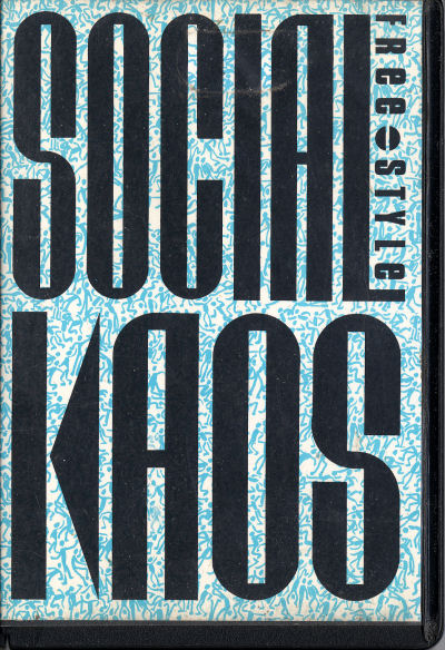 Social Kaos - Free-Style EP - cassette - front cover