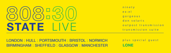 808 State live tour 2018