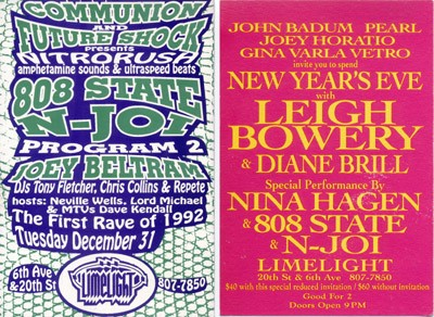 Nitrorush, Limelight, New York, New Years Eve