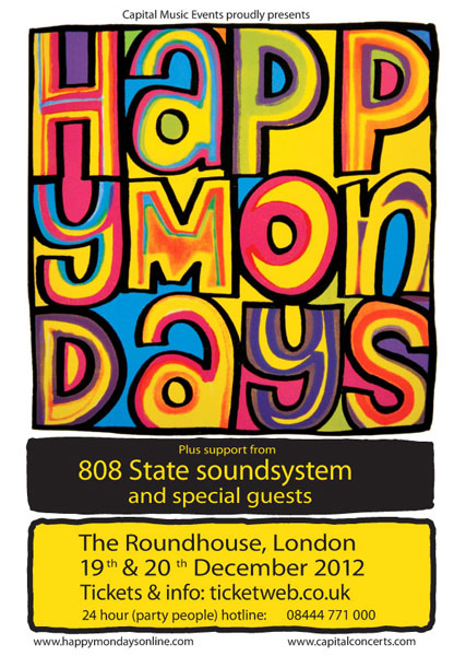 19 / 20 dec 2012 london roundhouse flyer