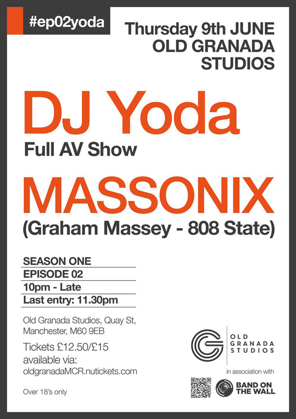 Massonix flyer Manchester 9 June 2016