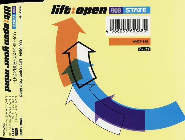 808 State - Lift / Open Your Mind