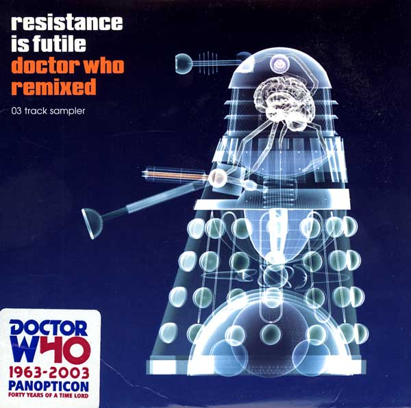 The United States of the Solar System, A.D. 2133 (Book Five) DrWho-ResistanceIsFutile-DoctorWhoRemixed-UK-CD-A