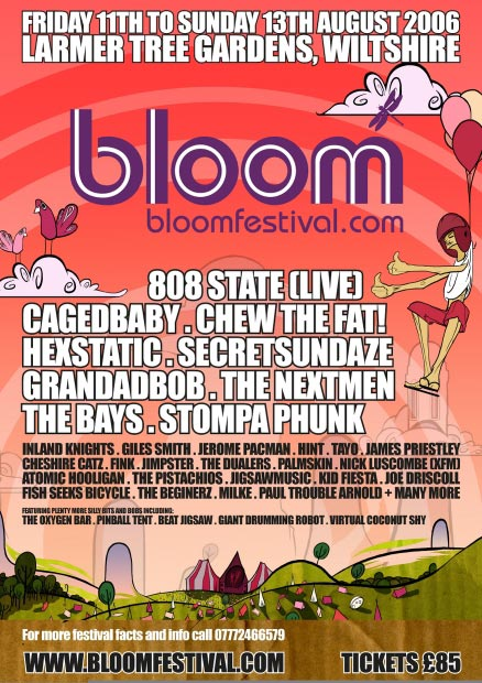 bloom flyer