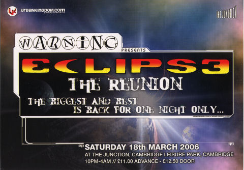 Eclipse 3 - The Reunion