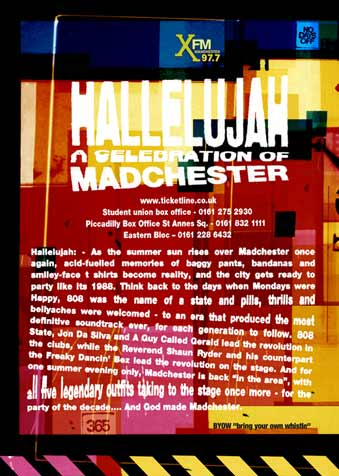 Hallelujah flyer back