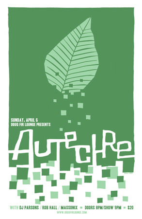 Sun:06:Apr:08 - Massonix (w. Autechre) - Doug Fir - Portland, USA.