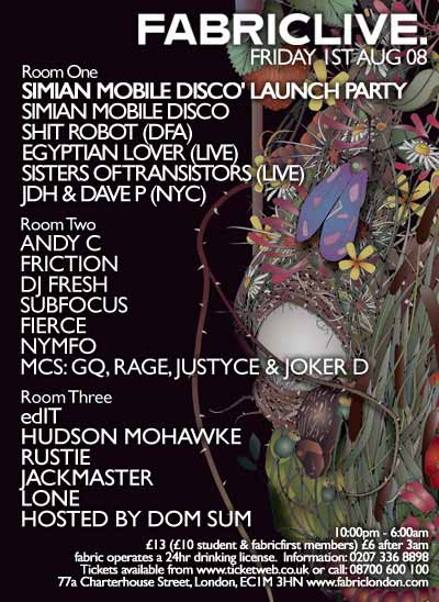 fabriclive flyer